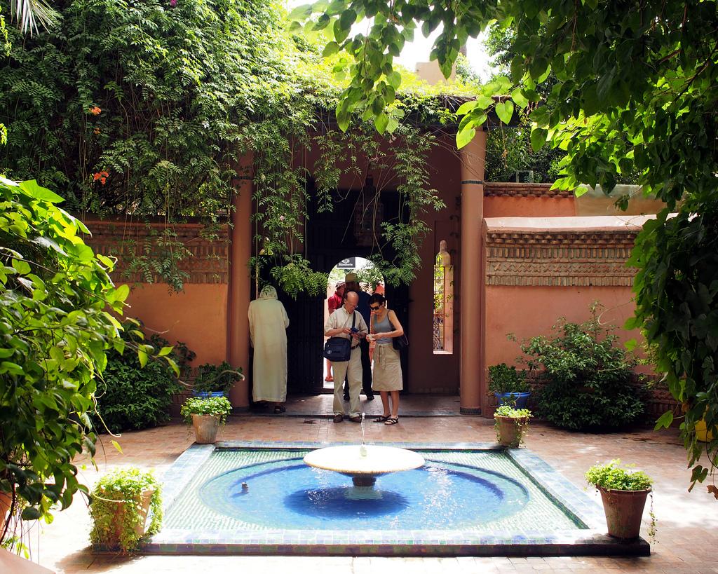 Jardin Majorelle entrance
