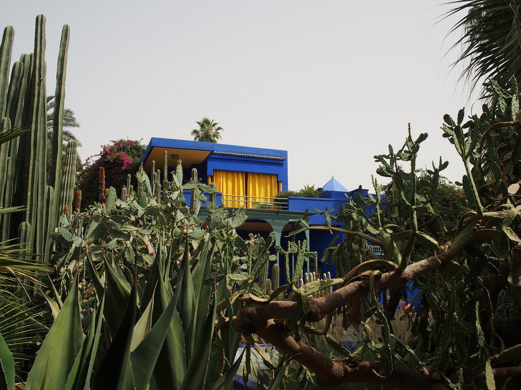 Jardin Marjorelle house