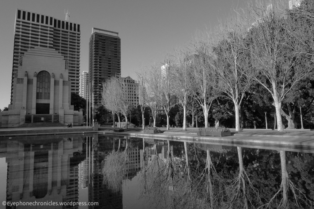 Hyde Park reflections (2)