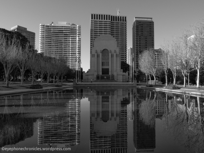 Hyde Park reflections (3)